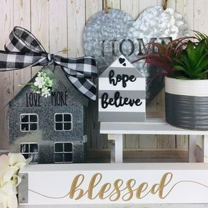 """LOVE MORE"" Farmhouse Home Decors"